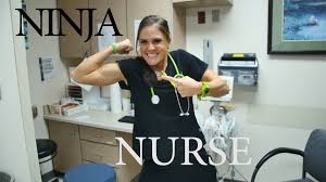 Nurses…Like Ninjas On The Warped Wall